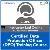 Certified Data Protection Officer (C-DPO) Live Online Training Course