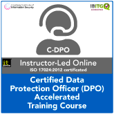 Certified Data Protection Officer (C-DPO) Accelerated Live Online Training Course