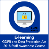 GDPR and Data Protection Act 2018 Staff Awareness E-learning Course