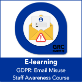 GDPR: Email Misuse Staff Awareness E-Learning Course - Micro