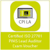 Certified ISO 27701 PIMS Lead Auditor (CPI LA) Exam Voucher