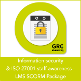Information Security & ISO 27001 Staff Awareness – LMS SCORM Package