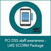 PCI DSS Staff Awareness – LMS SCORM Package