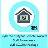 Cyber Security for Remote Workers Staff Awareness – LMS SCORM Package