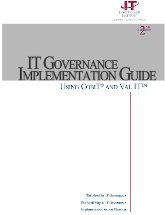 IT Assurance Guide - Using COBIT®