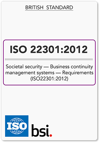ISO22301 (ISO 22301) BCMS Requirements