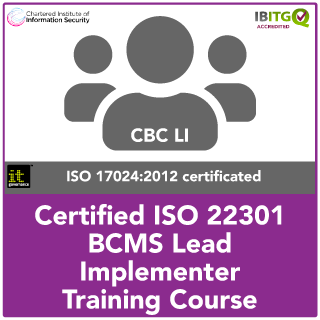 ISO22301 Certified BCMS Lead Implementer Training Course