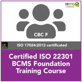 ISO22301 Certified BCMS Foundation Training Course