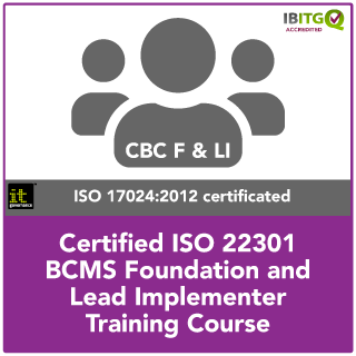 ISO 22301 BCMS Foundation and Lead Implementer Combination Course
