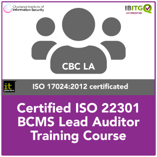 ISO 22301 Certified BCMS Lead Auditor Course