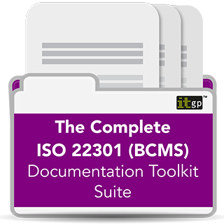 The Complete ISO 22301 (BCMS) Toolkit Suite