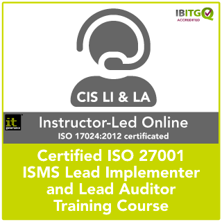 Certified ISO 27001 Lead Implementer and Lead Auditor Instructor-Led Online Combination Training Course