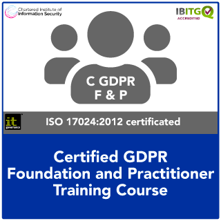 Certified EU GDPR Foundation and Practitioner Combination Course