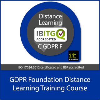 GDPR Foundation distance learning training course