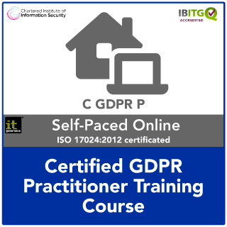 Certified GDPR Practitioner Distance Learning Training Course