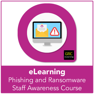Phishing and Ransomware e-learning course