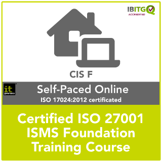 ISO 27001 Certified ISMS Foundation distance learning training course