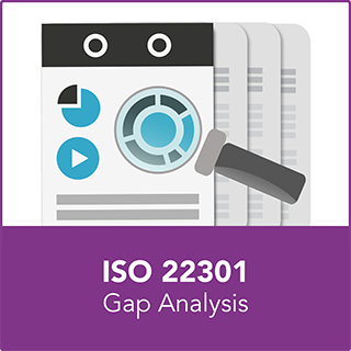 ISO 22301 gap analysis service