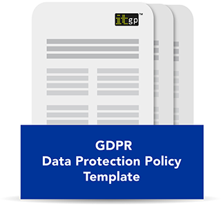 EU General Data Protection Regulation (GDPR) Data Protection Policy Template