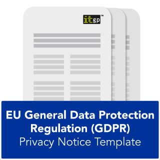GDPR privacy notice template