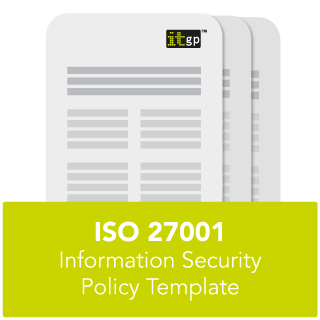 infosec policy template - iso 27001 information security policy template