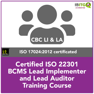 ISO 22301 Certified BCMS Lead Implementer and Lead Auditor Training Course