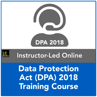 Data Protection Act 2018 Live Online Training Course