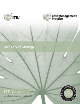 ITIL service strategy book